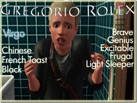 Card Gen 1 Gregorio